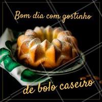 Quem não ama aquele sabor único do bolo caseiro? Peça já o seu! 🍰 #bolo #ahazou #bolos #bolocaseiro