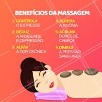 A massagem é incrível para o corpo! Já agendou seu horário? #massagem #ahazou #massoterapia