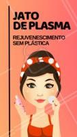 """""""O jato de plasma é um dos tratamentos mais eficientes no rejuvenescimento da pele. A aplicação do jato de plasma é muito precisa e é ideal para tratamentos como: melanoses ou manchas, de qualquer parte do corpo e rosto, retirada de pintas e verrugas, blefaroplastia sem cortes e trata também rugas e linhas de expressão promovendo aumento do colágeno e contração das rugas. #jatodeplasma #rejuvenescimento #ahazouestetica #esteticafacial """""""