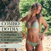 Venha aproveitar o desconto do dia e fazer seus tratamentos estéticos! #esteticacorporal #ahazou #corpo #ahazouestetica #verao #criolipolise #criofrequencia #mulher