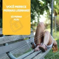 Aproveite nossa promoção e agende seu horário! #depilacao #chegadepelos #ahazou #ahazoudepilacao #promocao