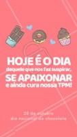 C H O C O L A T E <3 #chocolate #diadochocolate #ahazou #ahazoutaste #euamo #gastronomia