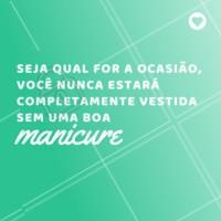 Tudo fica mais belo com as unhas feitas! Concordam? <3 #unhas #ahazou #ahazoumanicure #manicure #pedicure