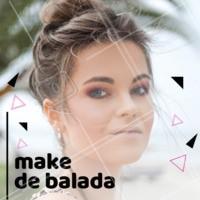 Fim de semana vai ter festa? Aproveite para vir fazer a sua maquiagem e arrasar! #maquiagem #ahazou #festa #make #horario #agendamento