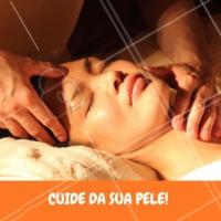 Que tal começar agora? O momento de cuidar da sua pele é hoje mesmo. Agende já seu horário! #cuidadoscomapele #pele #ahazouestetica #esteticafacial