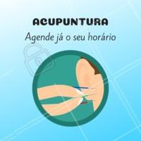 Venha conhecer os diversos benefícios da acupuntura e mudar a sua vida. Agende já o seu horário! #acupuntura #ahazou #bemestar #saude