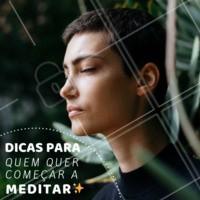 • Os mantras não são necessários para você meditar. Eles são apenas uma maneira de te ajudar a focar quando estiver meditando. Mas você também pode se conectar com algum som, ou com o movimento da sua respiração. • Não é preciso apagar tudo da sua mente. Com a prática vai ficando mais fácil focar no momento presente. • A meditação pode ser feita para um objetivo específico, como por exemplo, o alívio da ansiedade, ou simplesmente para o seu bem-estar. • Se você pensa que não tem tempo, coloque a meditação como qualquer outra atividade diária, como por exemplo, escovar os dentes. Dedique apenas alguns minutos por dia para praticar. • Meditação é um exercício de prática diário. É necessário praticar todos os dias para ir se aperfeiçoando aos poucos. #meditacao #bemestar #ahazou #saude #energia