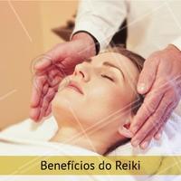 O Reiki é uma técnica que utiliza as mãos como fonte de energia para promover o bem-estar. Essa troca de energia revitaliza o corpo e a mente. Dentre seus benefícios, podemos citar:   • Redução do estresse e ansiedade; • Equilíbrio emocional; • Aumento da criatividade; • Aumento da calma, tranquilidade e serenidade; • Aumento do autocontrole; • Diminuição da impulsividade; • Fortalecimento do sistema imune; • Diminuição dos sintomas da depressão e da síndrome do pânico. #reiki #beneficios #energia #ahazou #bemestar #saude