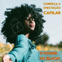 Você já fez uma hidratação capilar e não notou diferença nenhuma? Quando o cabelo está muito ressecado, recorra para a umectação capilar! Ligue e agende seu horário. #umectacao #ahazou #todecacho #blackpower
