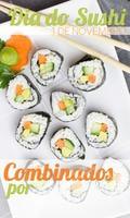 Neste dia do sushi, aproveite o nosso preço promocional dos combinados! #sushi #diadosushi #ahazou #ahazoutaste #japones