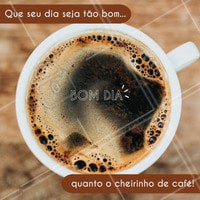 O dia só começa, oficialmente, depois do café! #bomdia #ahazou #cafezinho #coffee