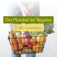 Parabéns para vocês que fazem o nosso mundo melhor! #veganismo #veganismoporamor #ahazoutaste #veganos #gastronomia