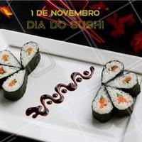 Para os fãs de sushi <3 #sushi #japones #ahazoutaste #gastronomia