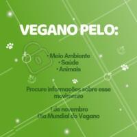 Hoje em dia o veganismo é um assunto em pauta. Existem diversos sites especializados no assunto, onde você pode obter diversas informações. Aproveite este dia para pesquisar sobre esse movimento! #veganismo #veganismoporamor #ahazoutaste #veganos #gastronomia