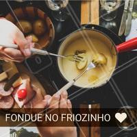 Quem não ama? #fondue #ahazou #ahazoualimentaçao #comida