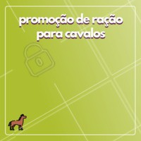 Aproveite o desconto na ração de cavalo! 🐎 #racao #ahazou #cavalo #promocao #desconto