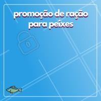 Aproveite o desconto na ração de peixes! 🐠 #racao #ahazou #peixes #promocao #desconto