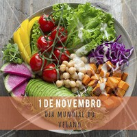 Hoje é o dia MUNDIAL desse lindo movimento. Parabéns aqueles que fazem parte, e aqueles que respeitam! #veganismo #veganismoporamor #ahazoutaste #veganos #gastronomia