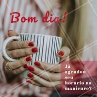 Esse é seu lembrete! Que tal agendar agora? 💅 #manicure #ahazoumanicure #Unha #Unhas