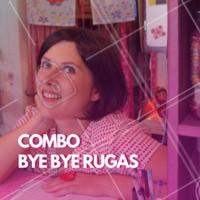 Quer dar adeus pras rugas de vez? Aproveite esse combo promocional! #rugas #ahazouestetica #envelhecimento #pelemadura #rejuvenescimento