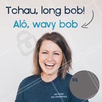 Você conhece o wavy bob? É o corte de cabelo queridinho da temporada. A ideia é apostar em fios mais curtos e desalinhados, valorizando a textura natural do cabelo ondulado. Quer mudar e está sem coragem? Talvez esse seja o sinal que você estava esperando. Agende seu horário! #corte #wavybob #ahazou #shorthair