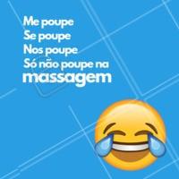 Pra descontrair hahaha 😂 #massagem #engraçado #meme #ahazoumassagem