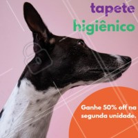 Aproveite o desconto para comprar o tapete higiênico. #cachorro #ahazou #tapete #desconto