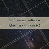 Seus sonhos estão batendo na porta, levante e vá vivê-los! #ahazou #bomdia #sonhos #universo