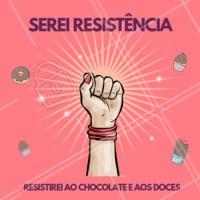 haha serei resistência na luta com a dieta! #resistencia #ahazou #engracado #meme