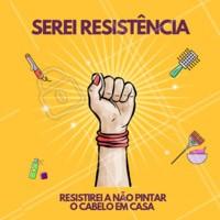 haha serei resistência na luta contra a vontade de pintar o cabelo sozinha! #resistencia #ahazou #engracado #meme