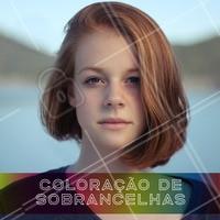 Fazemos a coloração da sua sobrancelha para te deixar o mais natural possível. #sobrancelha #coloracao #ahazou #beleza #mulheres