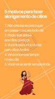 E tem motivos melhores do que esses? Venha fazer o seu alongamento de cílios! #cilios #ahazou #alongamento #ciliosahazou #mulher