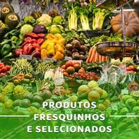 Aqui sempre tem os melhores produtos pra você se deliciar! #fruta #ahazou #frutaria #feira