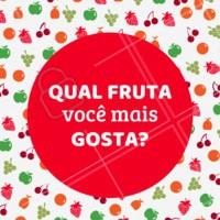 Comenta aqui 👇 pra gente saber! #frutaria #ahazou #feira #fruta