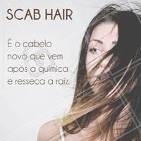 O scab hair é muito comum durante a transição (na raiz), causando problemas de porosidade, ressecamento e sumiço dos cachos! Agende sua hidratação e devolva a vida do seu cabelo. #cabelos #porosidade #ahazou #scabhair