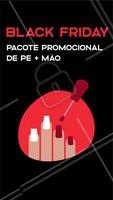 Vem curtir esse Black Friday em grande estilo! Aproveite nosso pacote promocional 😍 #blackfriday #ahazoumanicure #unhas #manicure #promoção