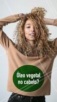 Ricos em vitaminas, lipídios e aminoácidos, os óleos vegetais ajudam na hidratação, umectação e crescimento dos fios, além de possuírem ação antioxidante e estimulante para o couro cabeludo. Os óleos de argan e o de abacate são os mais famosos! Invista neles. #cabelo #ahazou #oleo #ahazoucabelo #cuidados #tratamento #hidratacao