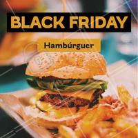 Hmmm hamburguer é sempre bom, em promoção então... 😋 #alimentação #ahazoutaste #hamburguer #blackfriday #hamburgueria