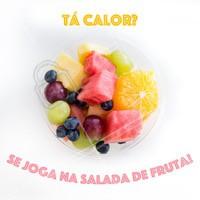 Quem aí também ama? 😍 #saladadefruta #ahazou #fruta #frutaria #feira
