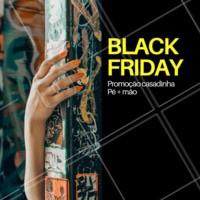 Vem curtir esse Black Friday em grande estilo! Aproveite nossa promoção 😍 #blackfriday #ahazoumanicure #unhas #manicure #promoção