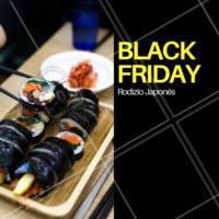 Hmmm rodízio é sempre bom, em promoção então... 😋 #alimentação #ahazoutaste #rodiziojapones #blackfriday #comidajaponesa
