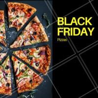 Hmmm pizza é sempre bom, em promoção então... 😋 #pizza #ahazoutaste #blackfriday #pizzaria