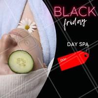 Venha aproveitar o desconto da Black Friday! #dayspa #spa #blackfriday #ahazou #promocao #mulher #beleza