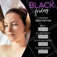 Venha aproveitar o desconto da Black Friday! #terapiasalternativas #reiki #acupuntura #blackfriday #ahazou #promocao #mulher #beleza