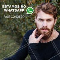Quer agendar seu horário, tirar dúvidas e receber dicas exclusivas? Entre em contato conosco pelo nosso Whatsapp! #whatsapp #barbearia #ahazoubarbearia #barba