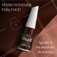 A Risqué lançou novos esmaltes metálicos. Venha conhecer as novidades! #esmalte #ahazou #unhas #risque #manicure #ahazoumanicure