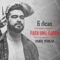 1) Use espuma de barbear 2) Use shampoo e produtos específicos para a barba 3) Use um balm para a barba 4) Faça manutenções frequentes com seu barbeiro 5) Não tire demais a barba 6) Evite produtos não destinados para a barba #barba #ahazoubarbearia #barbearia #cuidadoscomabarba