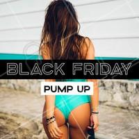Aproveite nossa promoção de black friday para o nosso tratamento de Pump Up. Agende já o seu horário! #estetica #ahazou #ahazouestetica #promocao #blackfriday #pumpup