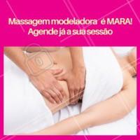 Massagem Modeladora é uns dos tratamentos mais procurado por vocês. E não é por menos, né? É maravilhoso, indolor, modela o corpo, desincha, e é fundamental para o cuidado com o nosso corpo e nossa saúde. Agende já a sua sessão! #massagemmodeladora #tratamento #ahazou #estetica