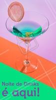 Quer tomar bons drinks? Temos diversas opções para você! Venha provar. #gastronomia #ahazou #drinks #bar #ahazoutaste #noite